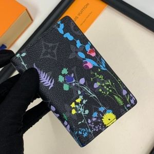 Louis Vuitton Flowers Pattern Wallet